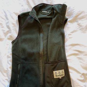 Barbour Langdale Gilet Fleece Vest - M - Olive